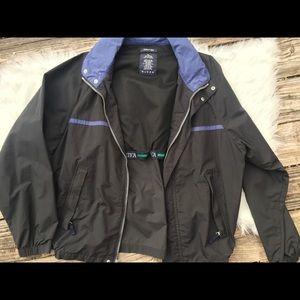 Sz L Nautica jacket windbreaker